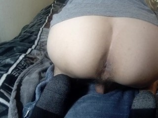 Young Twink Showing Ass In Bed