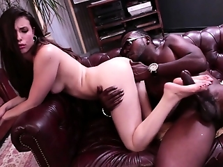 Asian Babe In Heat Needs A Hardcore Interracial Interlude